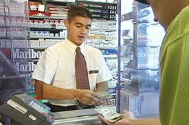 convenince store cashier